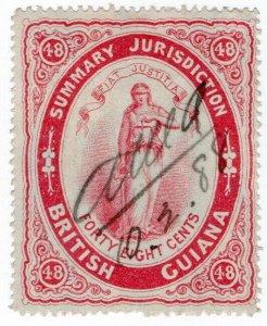 (I.B) British Guiana Revenue : Summary Jurisdiction 48c (1883)