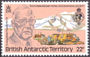 British Antarctic Territory # 80 mnh ~ 22p James Wordie, Expedition