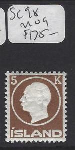 ICELAND   (PP1607B)  5 K     SC 98       MOG