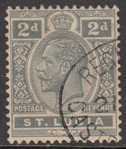 St. Lucia 80 Used CV $0.25