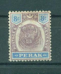 Malaya - Perak sc# 52 mng cat value $50.00