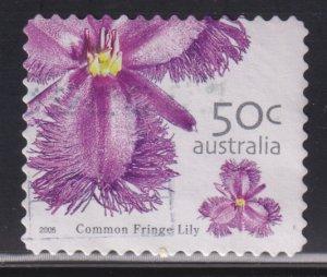 Australia 2399 Common Fringe Lily 2005