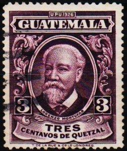 Guatemala. 1929 3c S.G.230 Fine Used