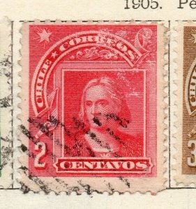 Chile 1905 Early Issue Fine Used 2c. NW-11422
