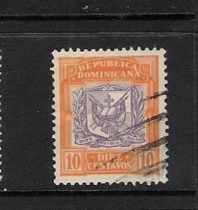 DOMINICAN REP. DOMINICANA 132 VFU ARMS C357 B