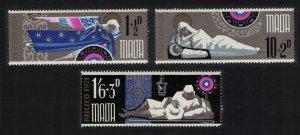 Malta Christmas 3v 1971 MNH SG#460-462 SC#B7-B9