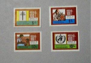 Tanzania - 213-15, MNH Set. Bacillus Centenary. SCV - $3.15