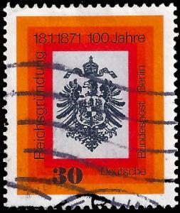 Germany Berlin 1971 Sc 9N304 uvf