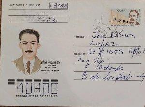 O) 1953 CUBA, CARIBBEAN, JOSE MARTI, JOSE FRANCISCO COSTA VELAZQUEZ MARTIR DE