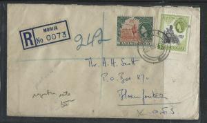 RHODESIA  (P1703B)  1904 2 1/2D PSE UMTALI TO ENGLAND