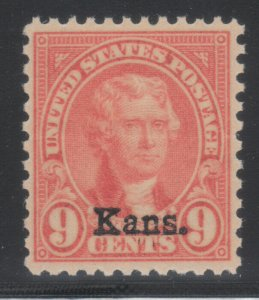 MOstamps - US #667 Mint OG NH Grade 80 with PSE Cert - Lot # MO-1276 SMQ $20