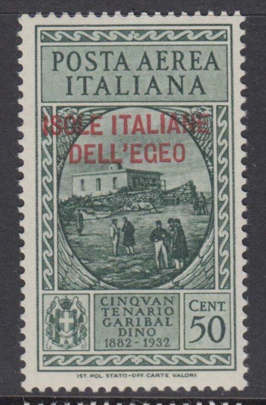 ITALY - EGEO - Garibaldi - Sassone A14 cv 330$ MNH**