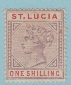 ST. LUCIA 37 DIE B MINT HINGED OG * NO FAULTS VERY FINE!