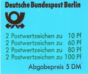 Germany #9N553a Complete Booklet  CV $45.00 (X2220)