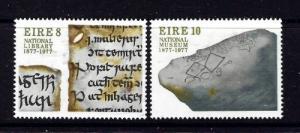 Ireland 411-12 H 1977 National Museum