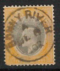 56841 - SOUTHERN NIGERIA - STAMPS: SG  # 18 used  - postmark BONNY RIVER 1902