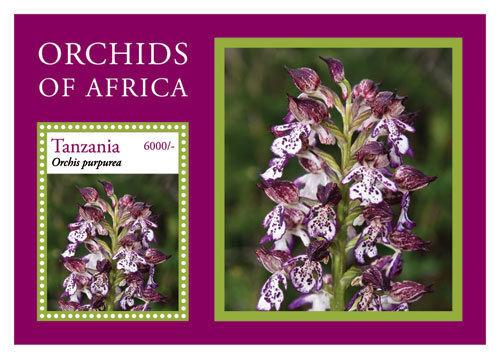 Tanzania - Orchids of Africa, 2014 - S/S Mint NH