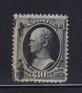 154 VF used neat light cancel with nice color cv $ 275 ! see pic !