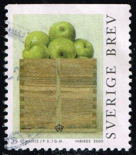 Sweden #2389 A Peck of Apples; Used (0.60)