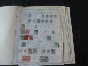 Liechtenstein 1946-1960 Stamp Collection on Album Pages