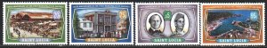 St Lucia. 2000. 1131-34. 150 years to the municipality of Casgris. MNH.