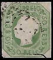 94965d - PORTUGAL -  STAMP -   AFINSA #  17 -   Fine USED