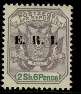 SOUTH AFRICA - Transvaal EDVII SG242, 2s 6d dull violet & green NH MINT. Cat £15