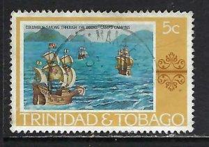 TRINIDAD & TOBAGO 262 VFU COLUMBUS H1246-7