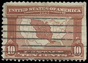 # 327 Used Red Brown Map Of Louisiana Purchase