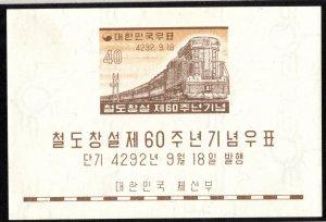 Korea Scott 293a Unused lightly hinged.