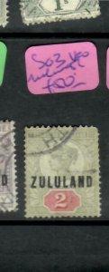 ZULULAND  (PP2305B)  QV  ON GB  2D  SG 3   MELMOUTH   VFU