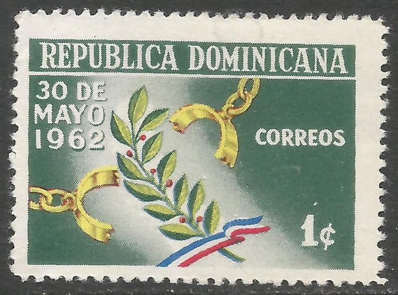 DOMINICAN REPUBLIC 561 MOG R454