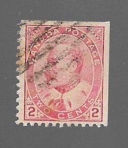 Canada 1903 - U - Scott #90E *