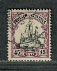 German East Africa Sc#37 Used/VF, Signed Wmk #125, Cv. $55
