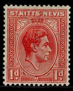 ST KITTS-NEVIS GV SG69a, 1d carmine, M MINT.