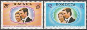 Dominica #372-3  MNH  (S6236)