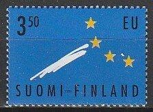 1995 Finland - Sc 958 - MNH VF - 1 single - Membership in EU
