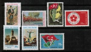 1973  TURKISH CYPRUS -  UMM - 50th YEAR OF TURKISH REPUBLIC