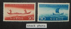 Norway 437-38. 1963 Postal Service in Norway, NH