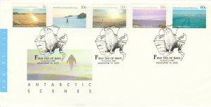 Australian Antarctic Territory Scott L60, L62, L64, L68 L70 Unaddressed.