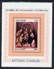 Vanuatu 1984 450th Death Anniversary of Correggio perf m/...