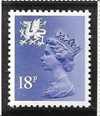 Great Britain-Wales & Monmouthshire # WMMH33 (MNH) $0.90