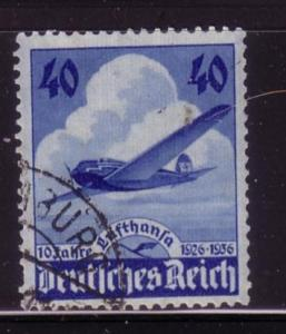 Germany Sc. 469 / Mi. 603 10th. Anny. Of Lufthansa