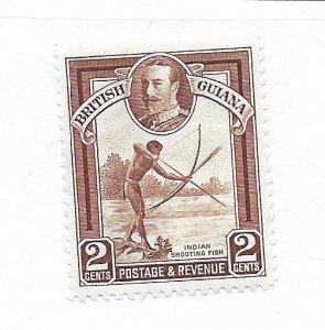 British Guiana #211 MH - Stamp CAT VALUE $1.75