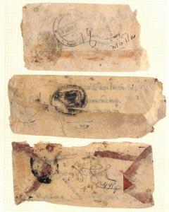 AX180 Nepal Local Native Hand Made Envelopes PTS