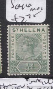 St Helena SG 46 MOG (5djd)