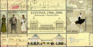 Estonia Stamp Sc#537-2006- National Opera, Cent.