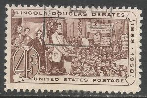 UNITED STATES 1175 VFU Z4606-8