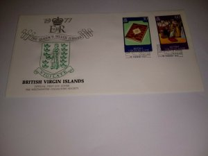 British Virgin Islands 1977 Silver Jubilee First Day Cover