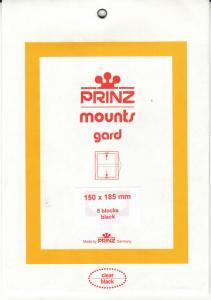 PRINZ BLACK MOUNTS 150X185 (5) RETAIL PRICE $10.50